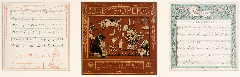 The Baby's Opera. A Book of Old Rhymes with new Dresses