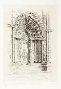 Lesser Doorway, West Front, St. Magnus Cathedral