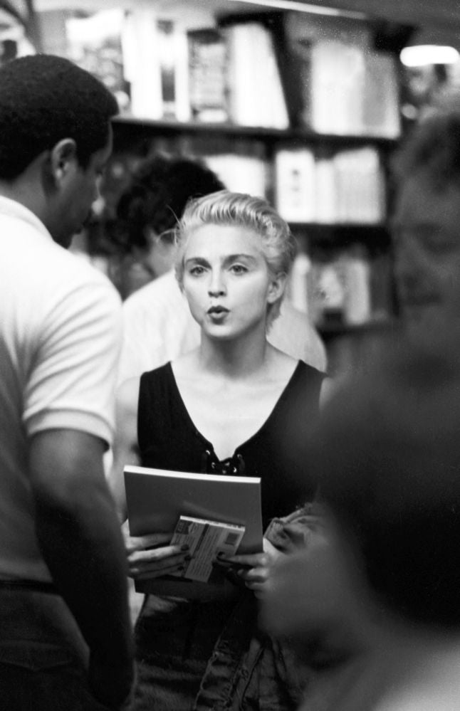 Madonna visits the Institute of Contemporary Arts wile in London for