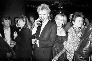 Sting & Trudie Styler at a party in Neasden following a Police