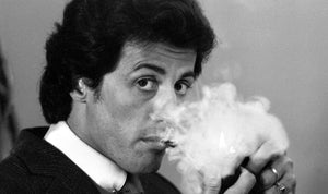 Sylvester Stallone at the Dorchester Hotel. 04/09/1981