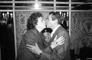 Ava Gardner & Dirk Bogarde at a Foyles Lunch at the Dorchester