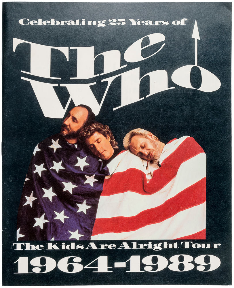 The Kids Are Alright Tour 1964-1999 programme