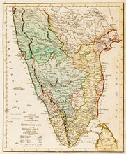 Load image into Gallery viewer, A New and Accurate Map of the Southern Provinces of Hindoostan