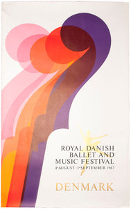 Royal Danish Ballet and Music Festival, 4th August - 3rd September 1967