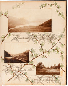 Illuminated photo album of the English Lake District