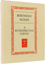 Load image into Gallery viewer, Berthold Wolpe.  A Retrospective Survey