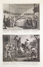 Load image into Gallery viewer, Illustrations for Samuel Butler's 'Hudibras'. A Complete Set of Twelve Original