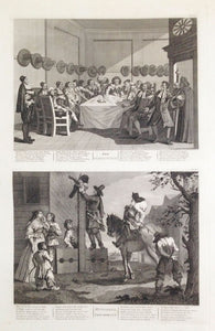 Illustrations for Samuel Butler's 'Hudibras'. A Complete Set of Twelve Original