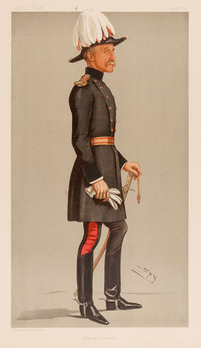 Major-General The Hon Reginald Talbot CB. Aldershot Cavalry