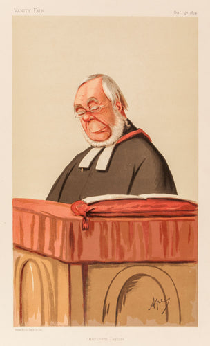 Rev James Augustus Hessey DCL. Merchant Taylors