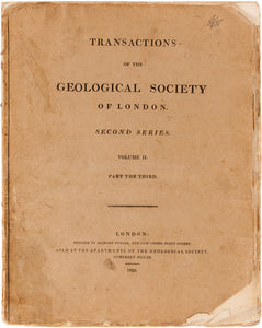 Transactions of the Geological Society of London, Second Series, Volume II