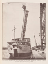 Load image into Gallery viewer, The Port of Basrah. Basrah Iraq. Published under the Authority of