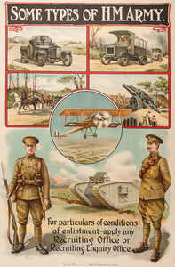 Some Types of H.M. Army