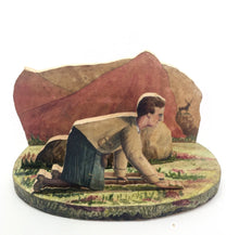 Load image into Gallery viewer, Arthur Holmes' Box of Delights [12 hand-painted wooden dioramas depicting …