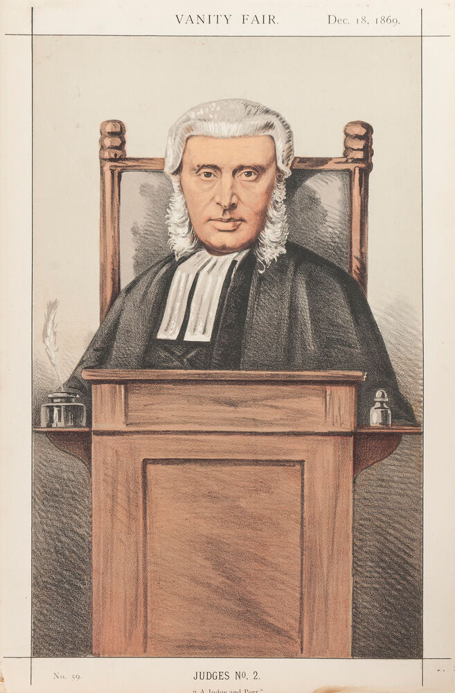 Lord Penzance. A Judge and Peer