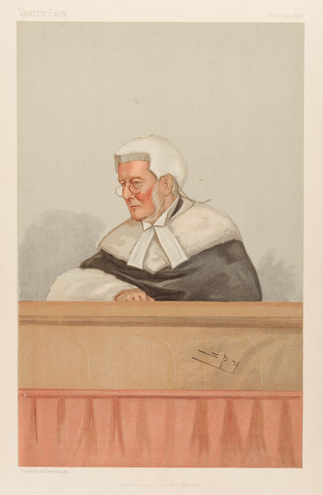 Hon Sir Alfred Wills. Benevolence on the Bench