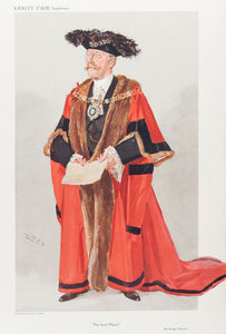 Alderman Sir George Wyatt Truscott. The Lord Mayor