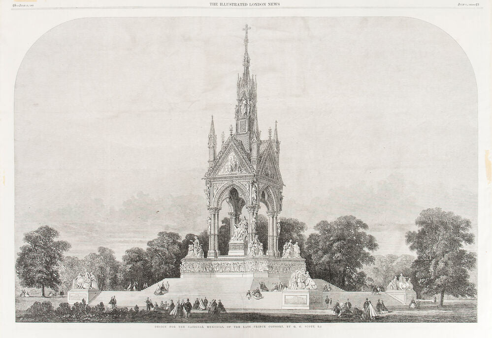 Design for the National Memorial of the Late Prince Consort