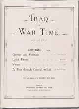 Load image into Gallery viewer, Iraq in War Time