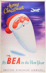 Merry Christmas - fly BEA in the New Year - British European Airways