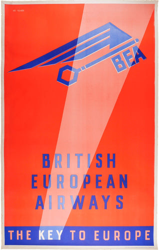 British European Airways, the key to Europe