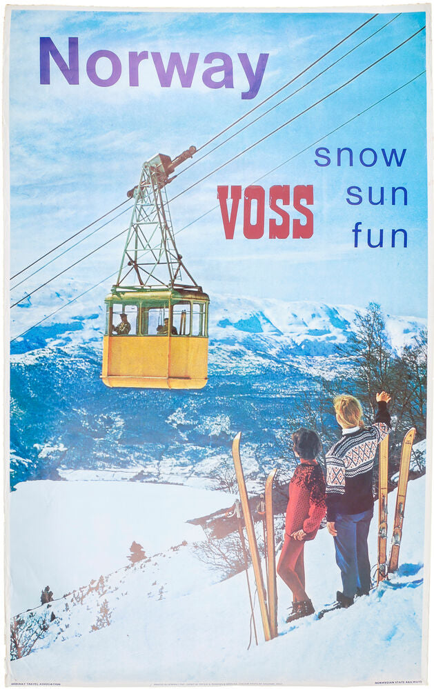 Norway, Voss, Snow Sun Fun