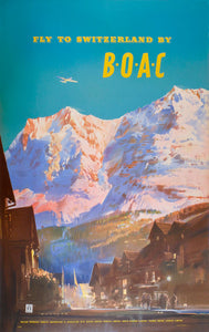 Fly to Switzerland by BOAC
