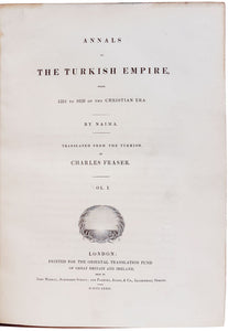 Annals of the Turkish Empire, from 1591 to 1659 of the