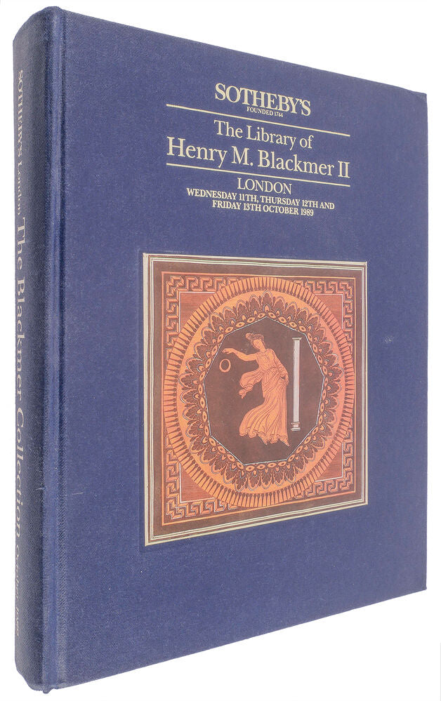 The Library of Henry Myron Blackmer II