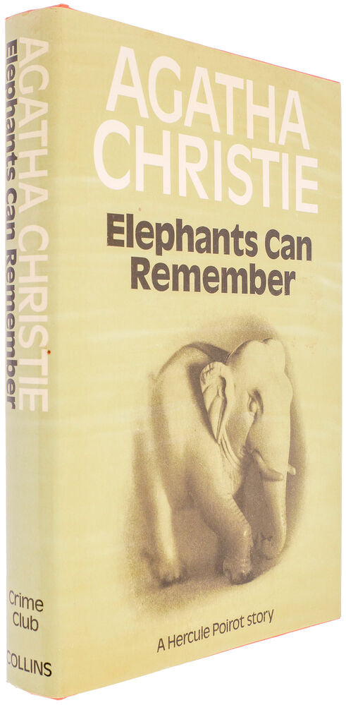 CHRISTIE, Agatha (author). Elephants Can Remember.
