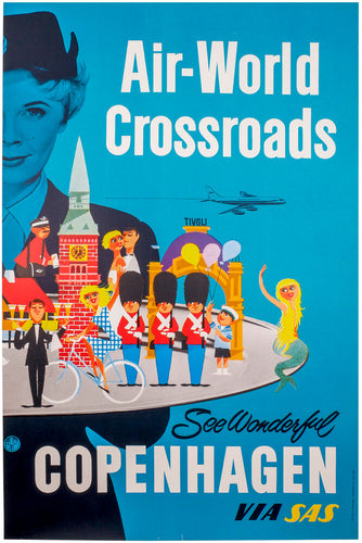 SAS Copenhagen Air-World Crossroads