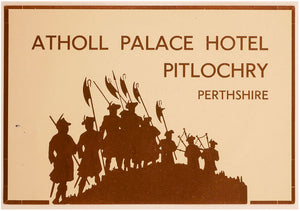 Atholl Palace Hotel, Pitlochry, Perthshire