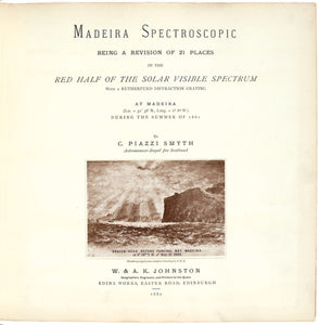 Madeira Spectroscopic being a Revision of 21 Places in the Red