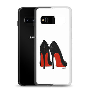 Little Black Red Bottoms Samsung Case