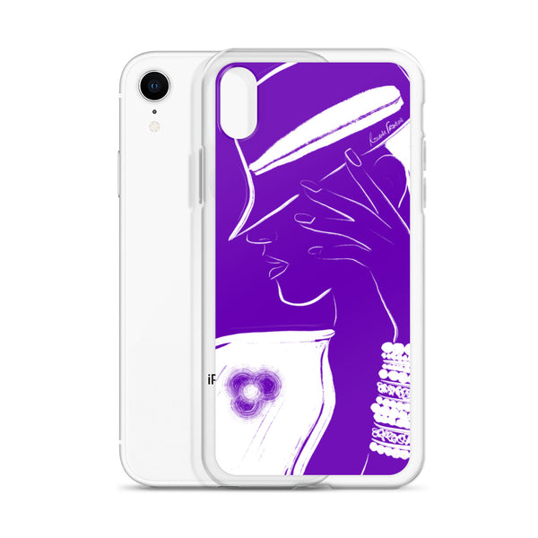 Free Thinker iPhone Case in Purple
