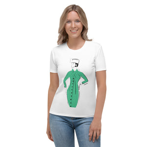 Green Delight Single Women's T-shirt
