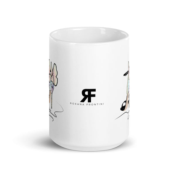 Walking Butterfly Mug