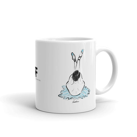 Ballerina in Blue Mug