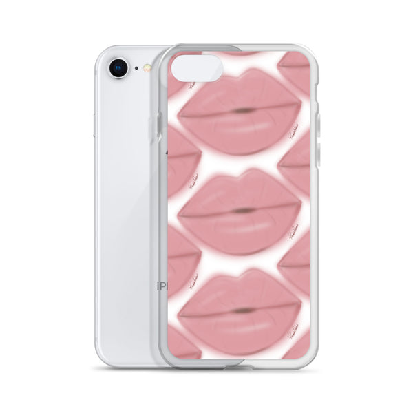 Bisous Rose iPhone Case