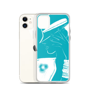 Free Thinker iPhone Case in Teal