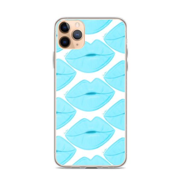 Clear Sky Lips iPhone Case