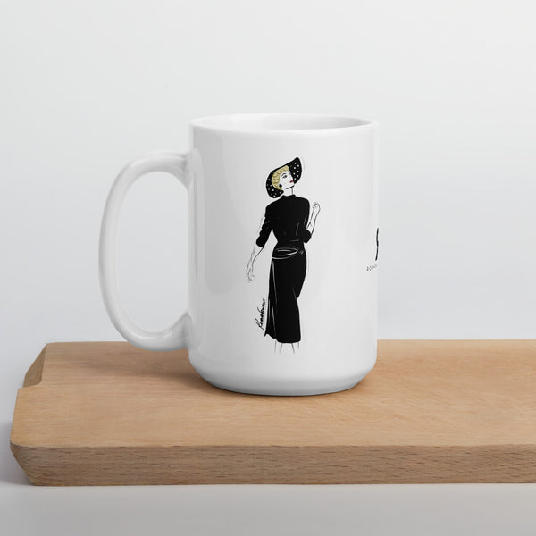 Timeless in Black Mug
