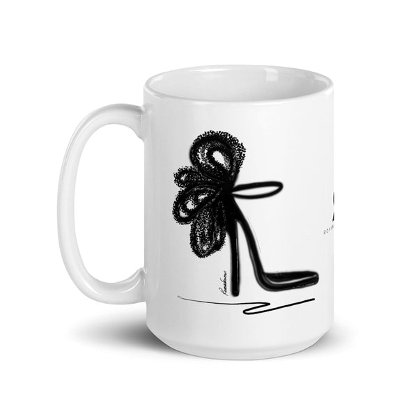 Beauty in Darkness Mug