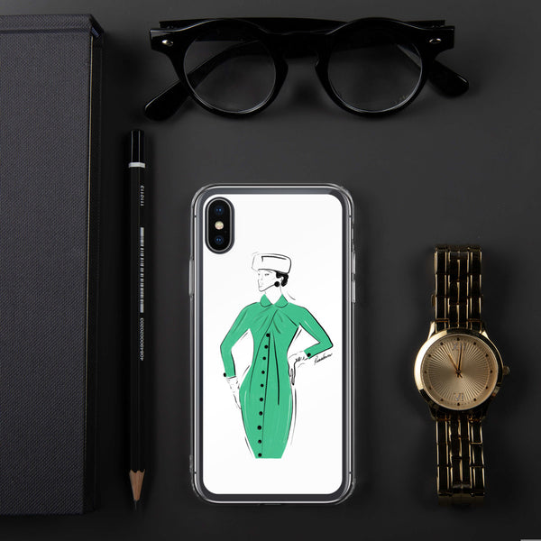 Green Delight iPhone Case