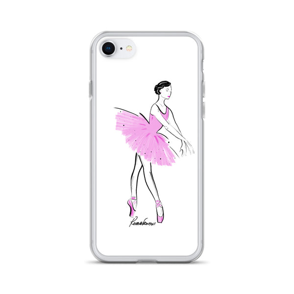 Ballerina in Pink iPhone Case