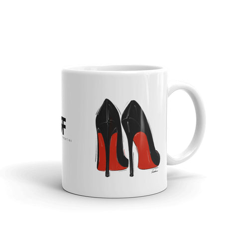 Little Black Red Bottoms Mug