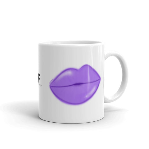Purple Glow Lips Mug