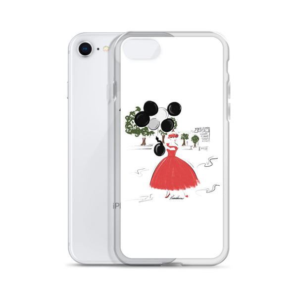 Balloons in the Park iPhone Case