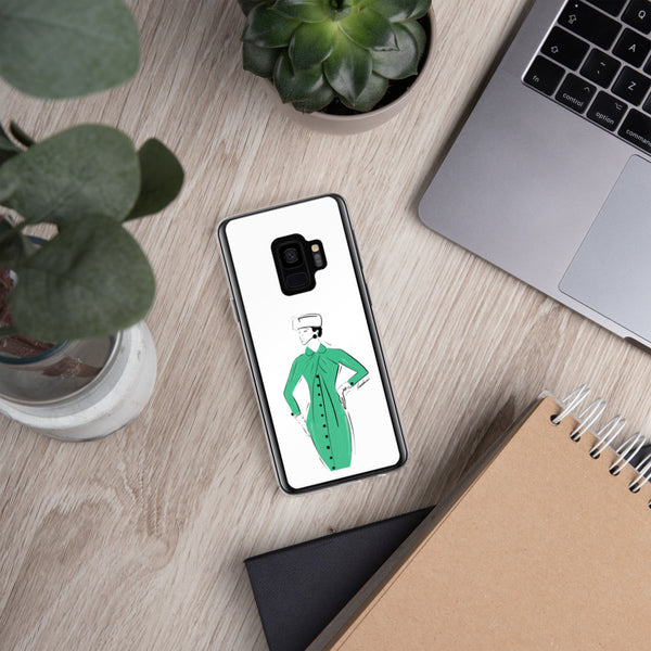 Green Delight Samsung Case